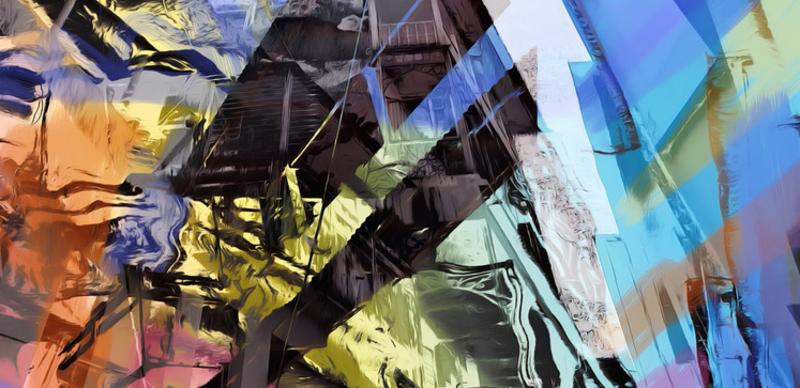 Karin Bison-Unger_Stonetown Sansibar_zeitgenössische Kunst